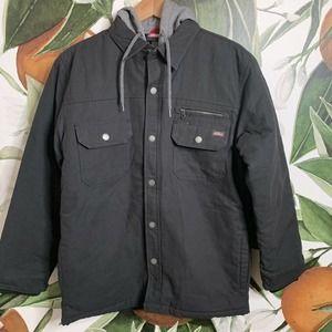 Genuine Dickies Large Duck Hooded Jacket New